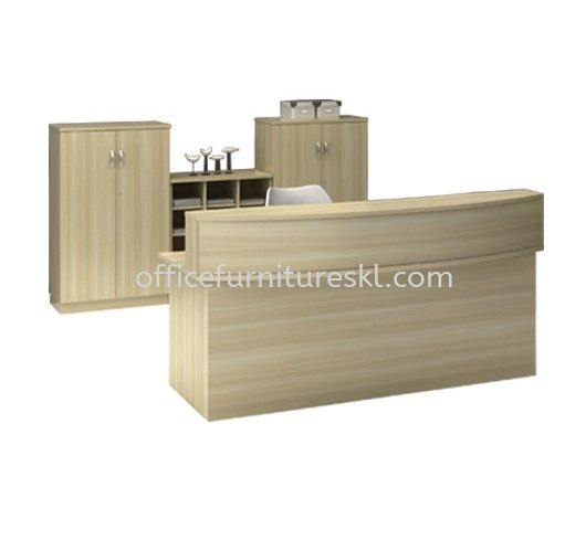 EXTON RECEPTION COUNTER OFFICE TABLE - hot item | reception counter office table bandar botanik | reception counter office table bandar baru klang | reception counter office table wisma central