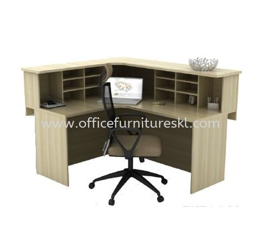 EXTON RECEPTION COUNTER OFFICE TABLE - hot item | reception counter office table banting | reception counter office table port klang | reception counter office table the grange ampang walk
