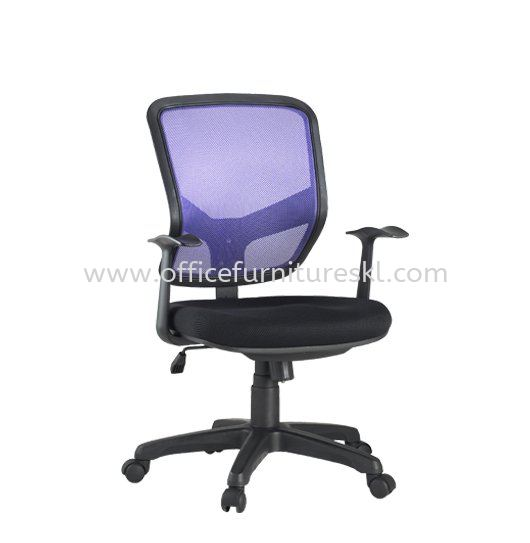 BRAVO 1 LOW BACK ERGONOMIC MESH CHAIR C/W POLYPROPYLENE BASE