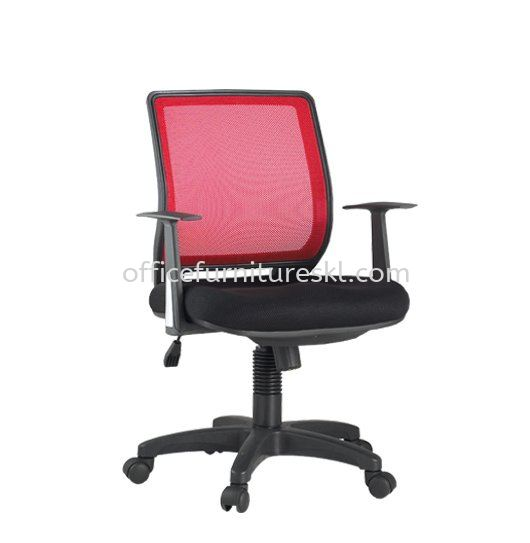 BRAVO 2 LOW BACK ERGONOMIC MESH CHAIR C/W POLYPROPYLENE BASE