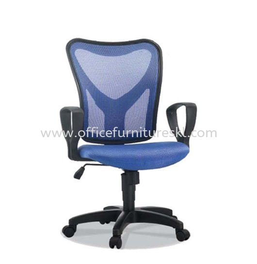 BRAVO 3 LOW BACK ERGONOMIC MESH CHAIR C/W POLYPROPYLENE BASE