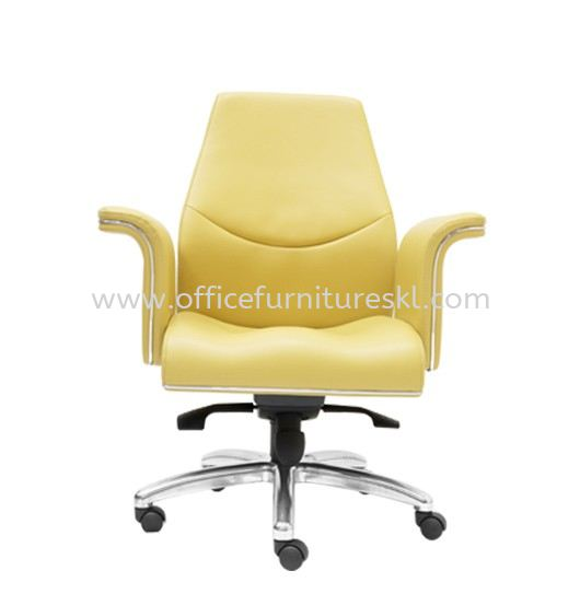 WIGAN DIRECTOR LOW BACK LEATHER OFFICE CHAIR-director office chair damansara heights | director office chair changkat semantan | director office chair ampang point