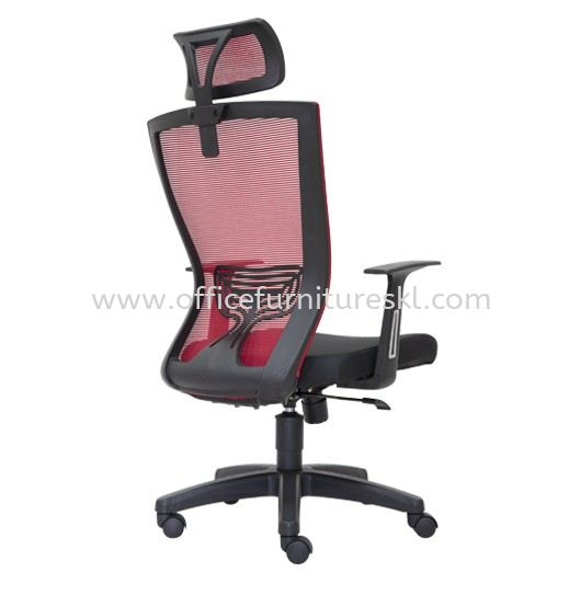 MALTON 2 HIGH BACK ERGONOMIC MESH CHAIR C/W POLYPROPYLENE BASE