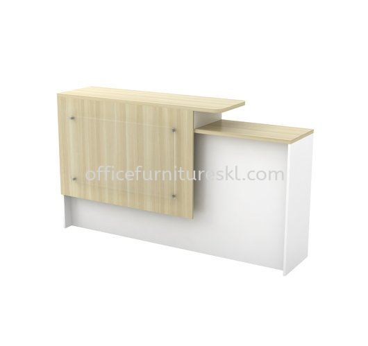MUPHI RECEPTION COUNTER OFFICE TABLE - top 10 best model reception counter office table | reception counter office table setia avenue | reception counter office table bandar bukit raja | reception counter office table klcc