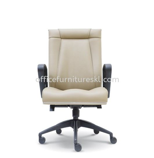 HARPERS EXECUTIVE MEDIUM BACK LEATHER OFFICE CHAIR - mid year sale | executive office chair glo damansara shopping mall | executive office chair 3 damansara  shopping mall | executive office chair cheras sentral mall