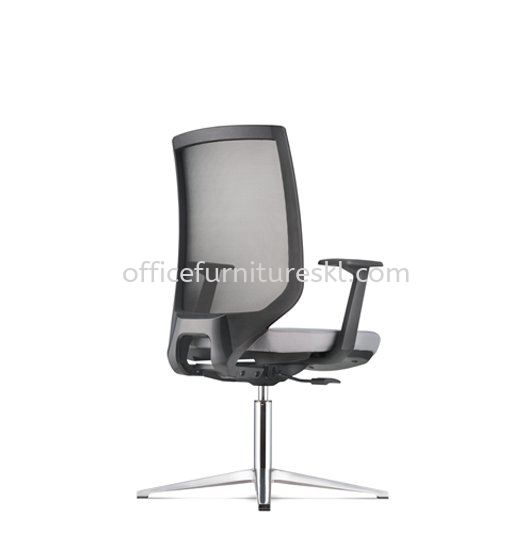 ZENITH VISITOR ERGONOMIC MESH CHAIR C/W 4 PRONGED ALUMINIUM BASE AZN 8214N