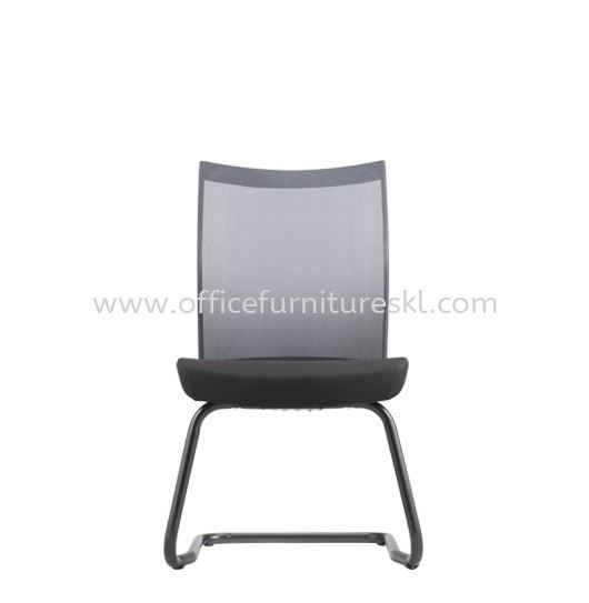 MESH II EXECUTIVE VISITOR MESH BACK CHAIR WITHOUT ARMREST C/W EPOXY BLACK CANTILEVER BASE MH-5N