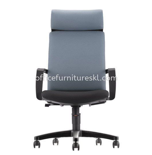 FITS EXECUTIVE HIGH BACK FABRIC OFFICE CHAIR - top 10 best selling office chair | executive office chair shah alam | executice office chair setia alam | executive office chair setapak