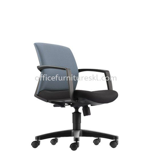 FITS EXECUTIVE LOW BACK FABRIC OFFICE CHAIR - top 10 most popular office chair   executive office chair bandar botanik   executive office chair bandar baru klang   executive office chair danau kota