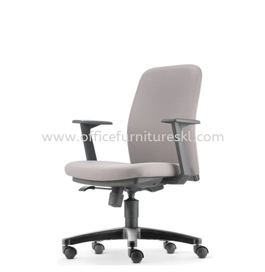 ARONA EXECUTIVE LOW BACK FABRIC OFFICE CHAIR - office chair sungai besi | office chair brickfields | office chair year end sale