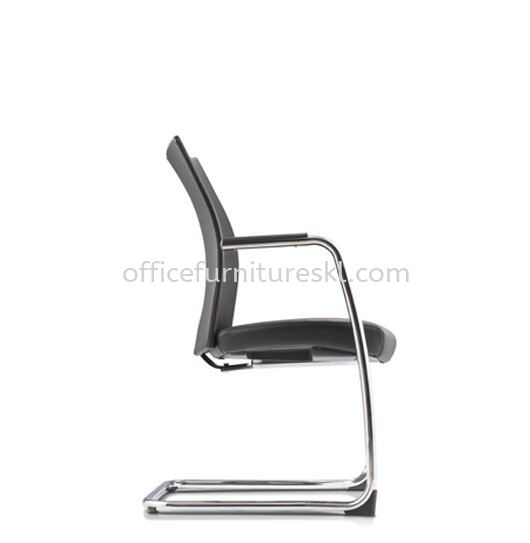 MESH ll EXECUTIVE VISITOR LEATHER OFFICE CHAIR C/W ARMREST - best buy | executive office chair kawasan perindustrian temasya | executive office chair subang 2 | executive office chair the grange ampang walk