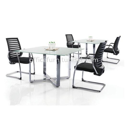 CASSIA CHROME DISCUSSION TABLE (CHROME)