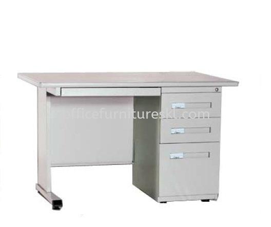 MODERN SINGLE PEDESTAL DESK - Top 10 Best Selling Work Desk   Work Desk Kuchai Lama   Work Desk Technology Park Malaysia   Work Desk Jalan Chan Sow Lin