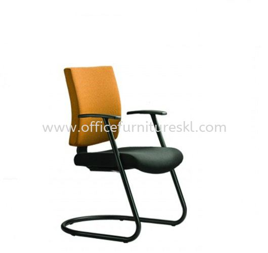 BRABUSS EXECUTIVE VISITOR FABRIC OFFICE CHAIR - office chair viva home shopping mall | office chair seputeh | office chair year end sale