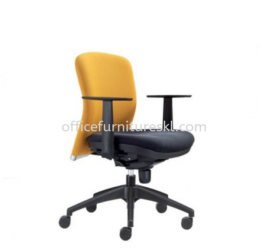 BRYON EXECUTIVE LOW BACK FABRIC OFFICE CHAIR - office chair jalan ceylon | office chair pj new town | office chair promotion