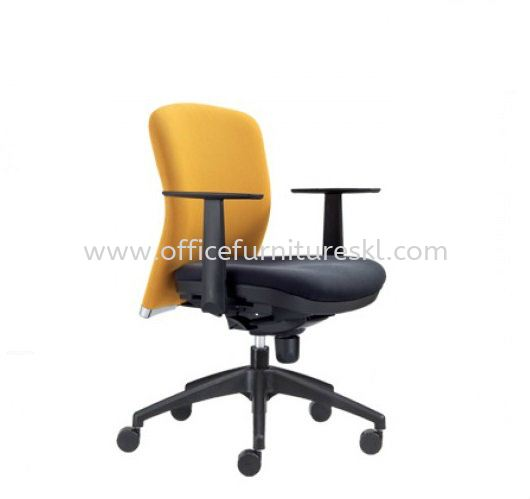 BRYON EXECUTIVE LOW BACK FABRIC OFFICE CHAIR - office chair jalan ceylon   office chair pj new town   office chair promotion