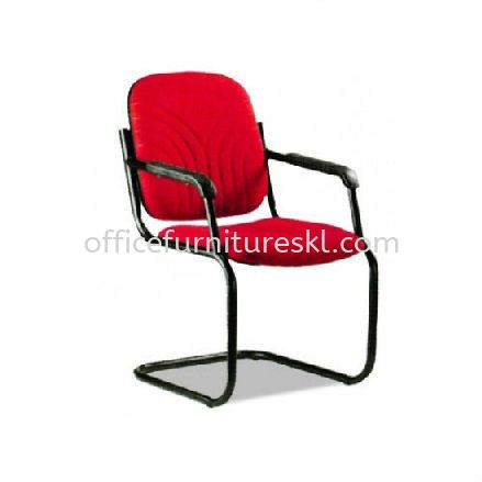 CONFERENCE FABRIC VISITOR CHAIR C/W ARMREST - Top 10 Best Value Fabric Office Chair | Fabric Office Chair Kota Kemuning | Fabric Office Chair Seri Kembangan | Fabric Office Chair Bandar Sri Petaling