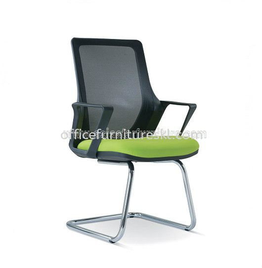 RIA 5 VISITOR ERGONOMIC MESH CHAIR WITH CHROME CANTILEVER BASE