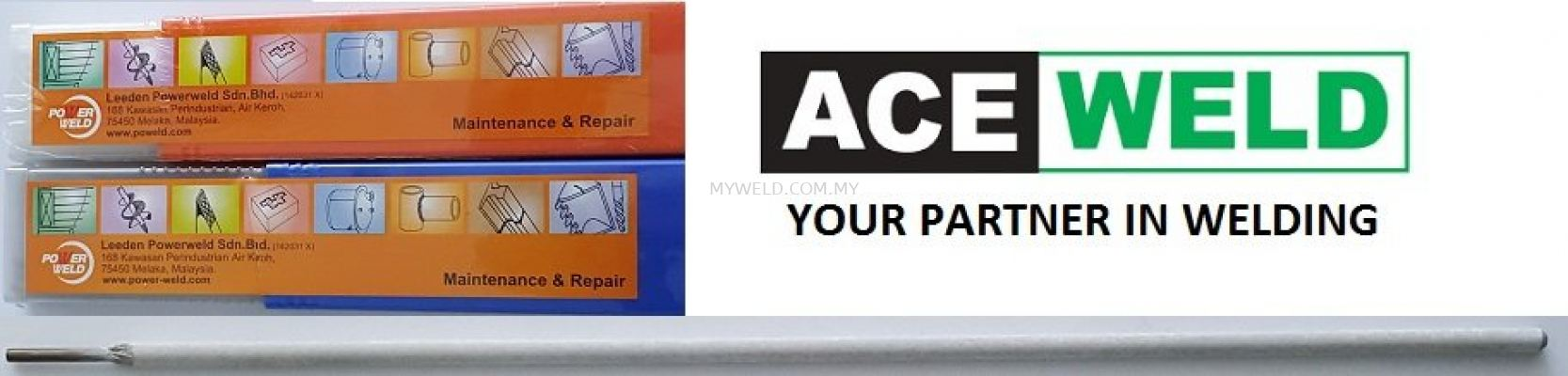 ACE WELD Stainless Electrode E308L