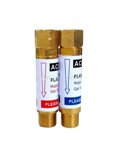 Ace Weld Oxygen / Acetylene Flashback Arrestor (Regulator End)
