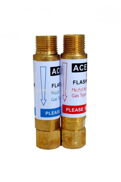 Ace Weld Oxygen / Acetylene Flashback Arrestor (Torch End)