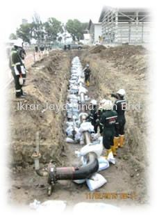 Sarawak MLNG Train 9 Project-Underground Piping (GRE Pipe) Works