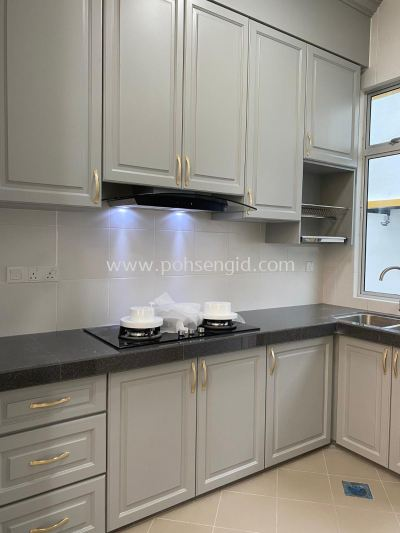Nyatoh Spray Paint Kitchen Cabinet #RIMBUN VISTA