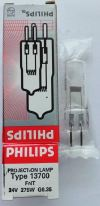 Philips 13700 FNT 24V 275W G6.35 Projection Lamp Projection and Fibre Optic Lamps