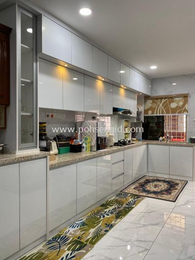 4G Glass Kitchen Cabinet #GREEN STREET HOMES