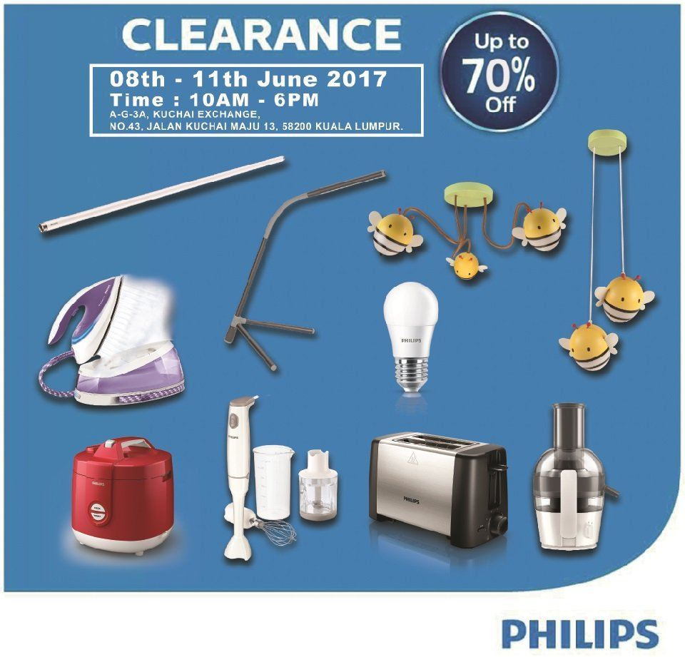 JLL Philips Products Carnival Sale Day