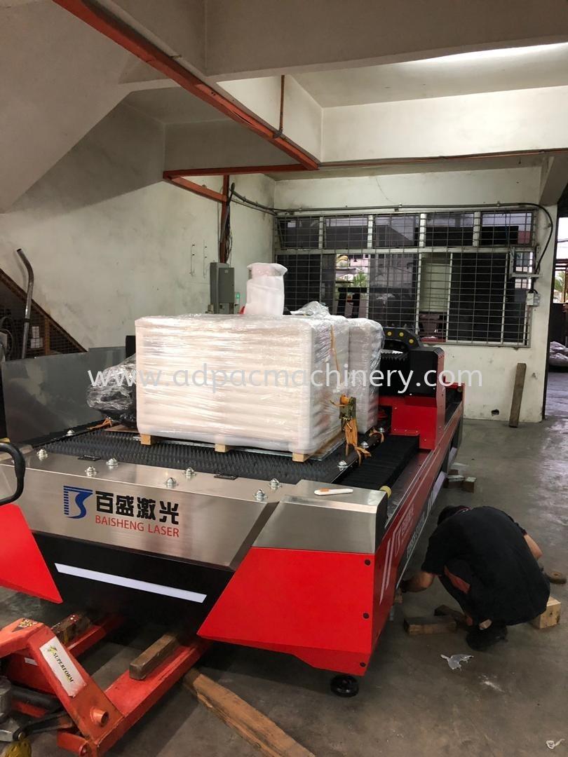 Installation of New Fiber Laser Cutting Machine