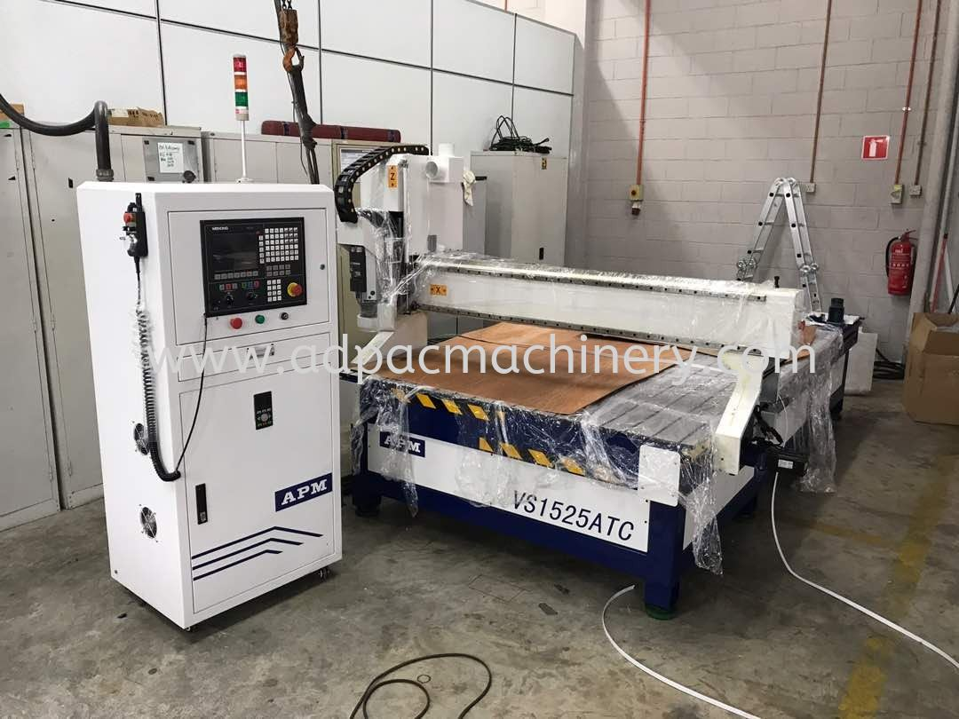 Installation of New CNC Router