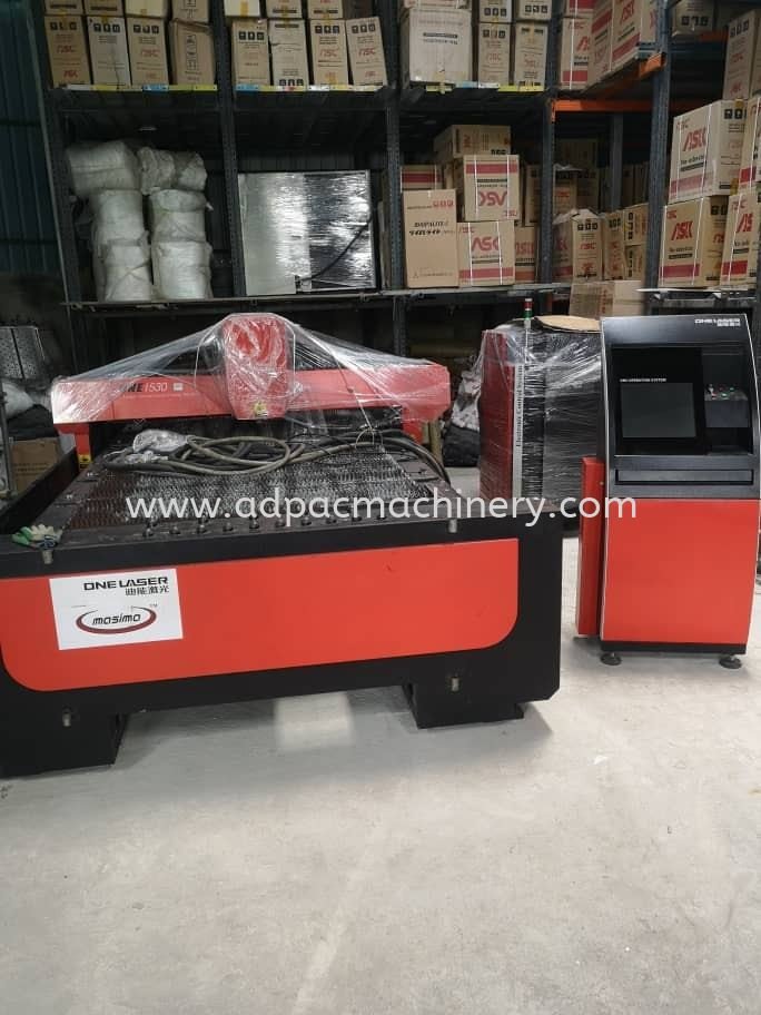 Arrival of Used Laser Cutting Machine