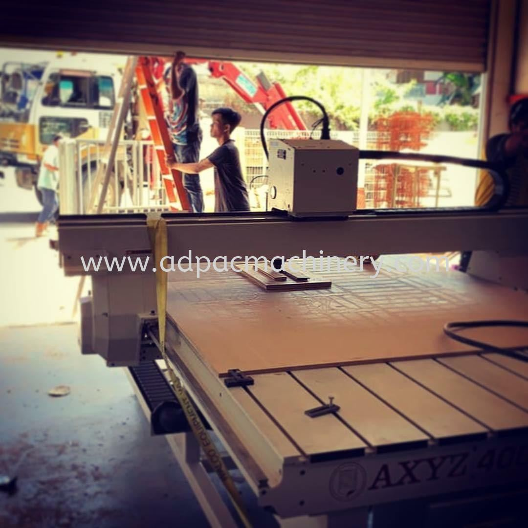 Moving In CNC Router Machine In Sabah