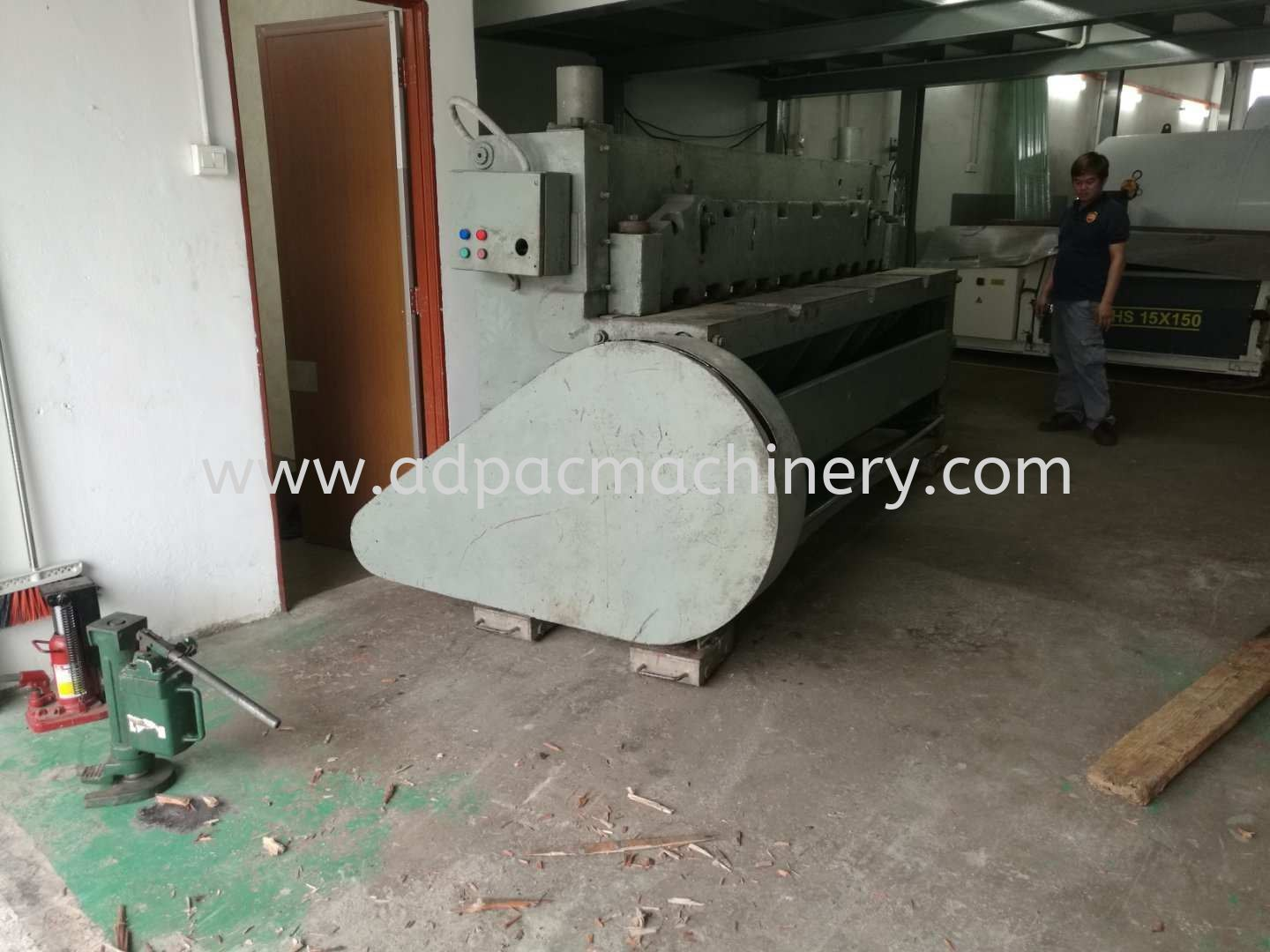 Arrival of Used Shearing Machine