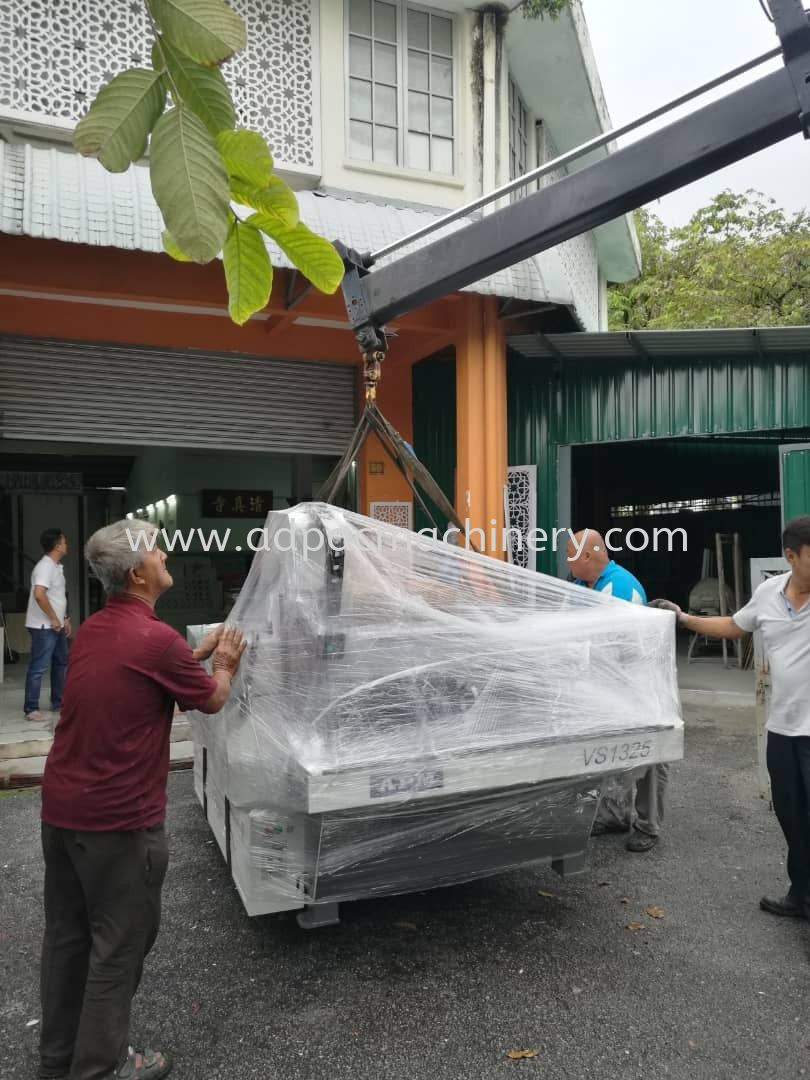 Delivery Of New APM CNC Router To Kuala Lumpur