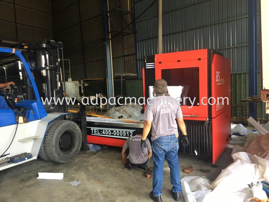Arrival of New Professional Tube/Pipe Laser Cutting Machine