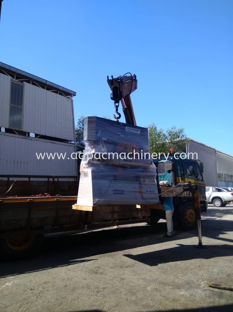 Delivery of New Turkey Steel Worker / Iron Worker
