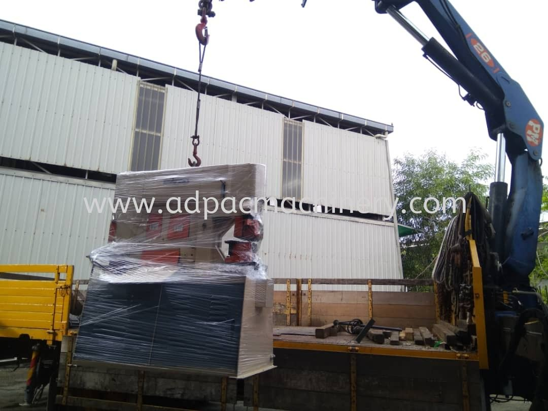Delivery of Hydraulic Iron Worker / Steel Worker