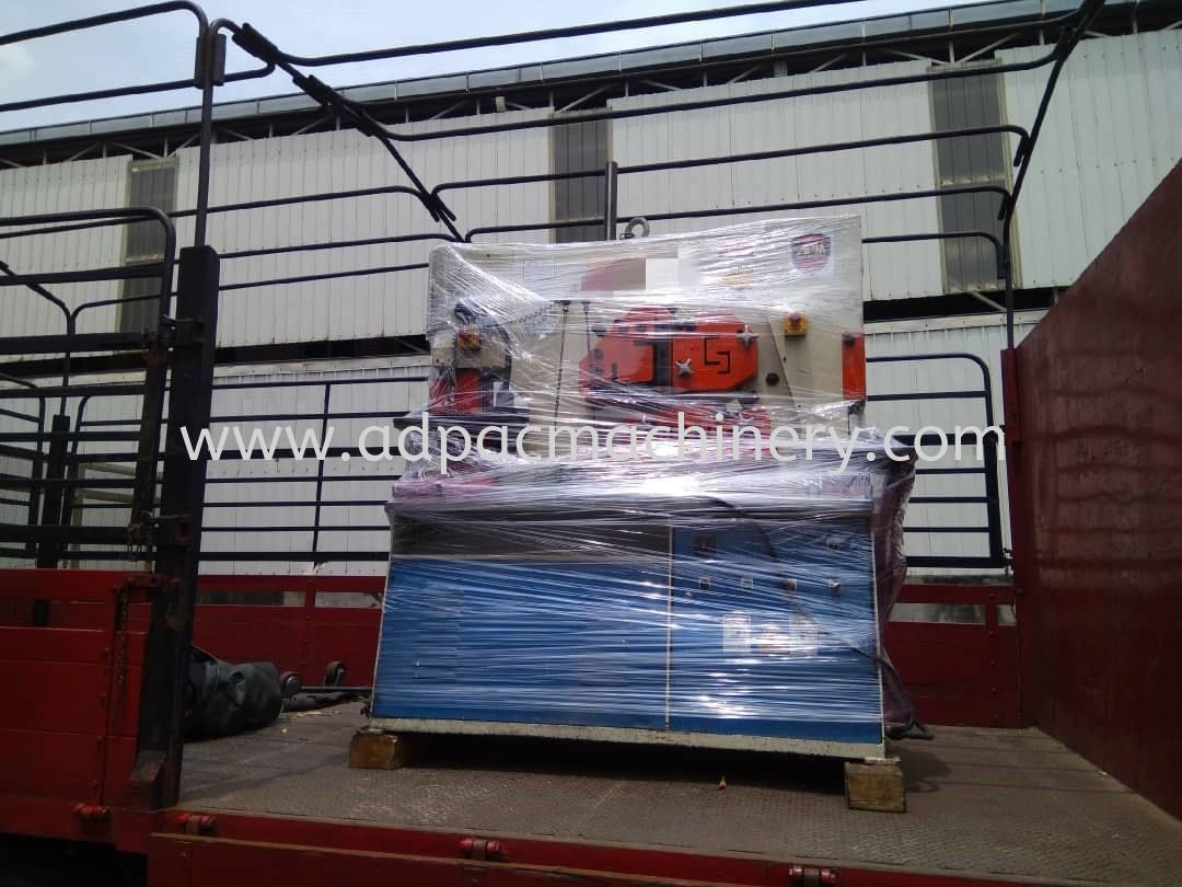 Delivery of Used Hydraulic Iron Worker / Steel Worker