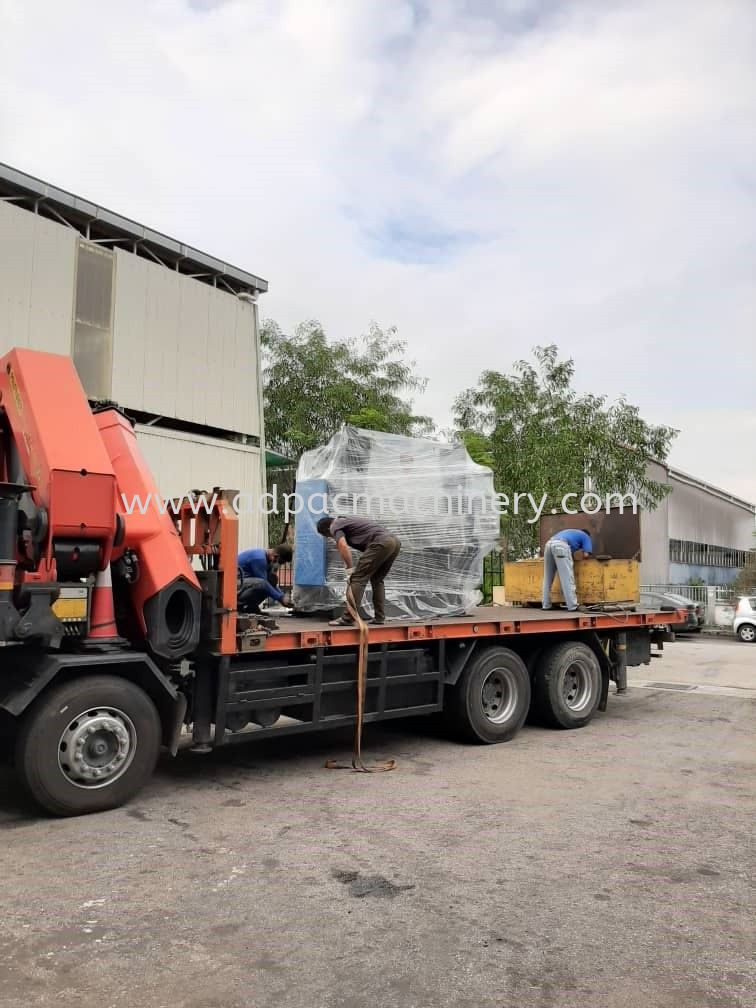 Delivery of New APM NC Hydraulic Press Brake / Bending Machine