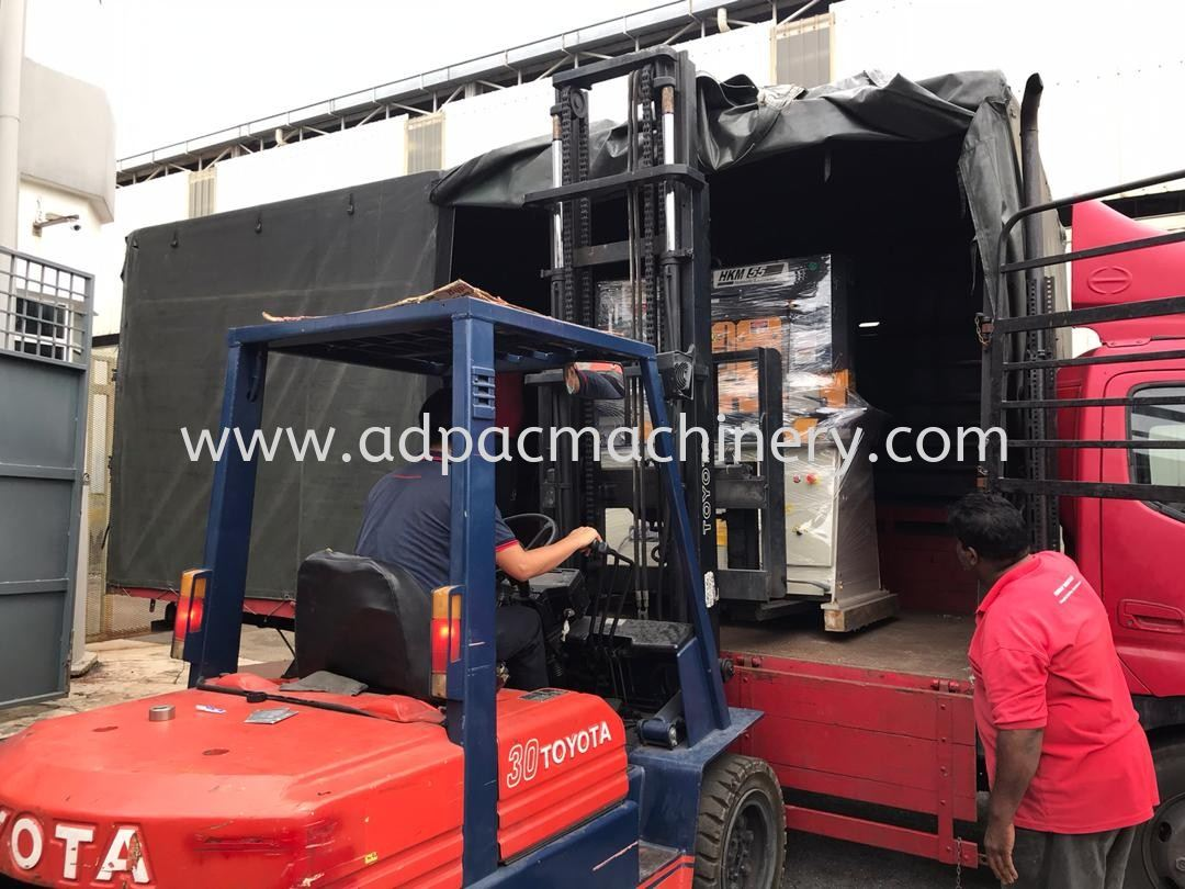 Delivery of New Hydraulic Iron Worker / Steel Worker