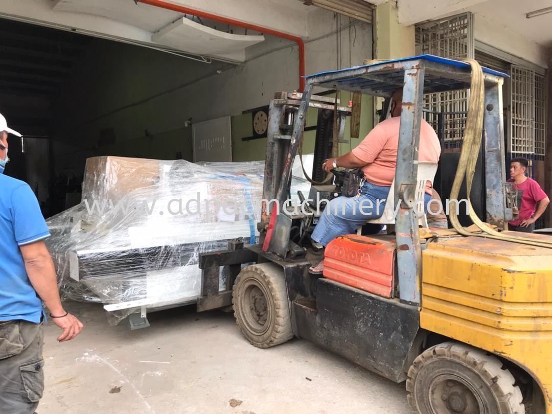 Delivery of APM Stone CNC Router