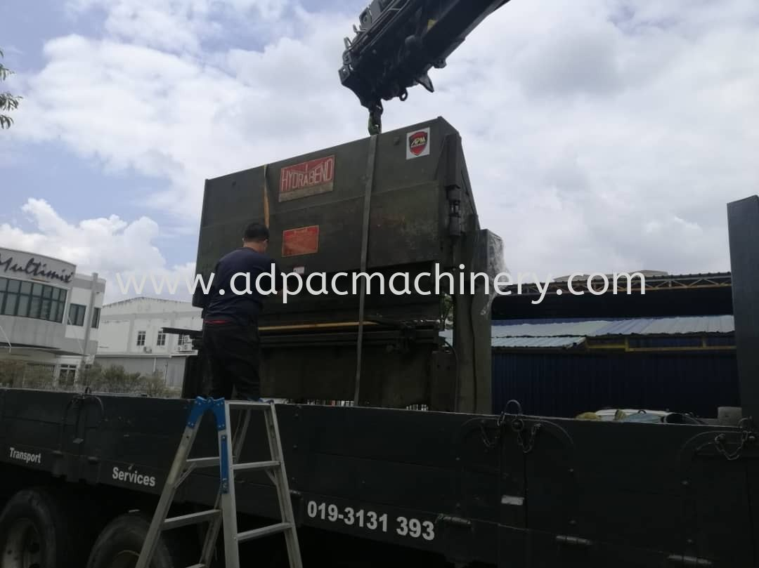 Delivery of Used Hydraulic Press Brake / Bending Machine