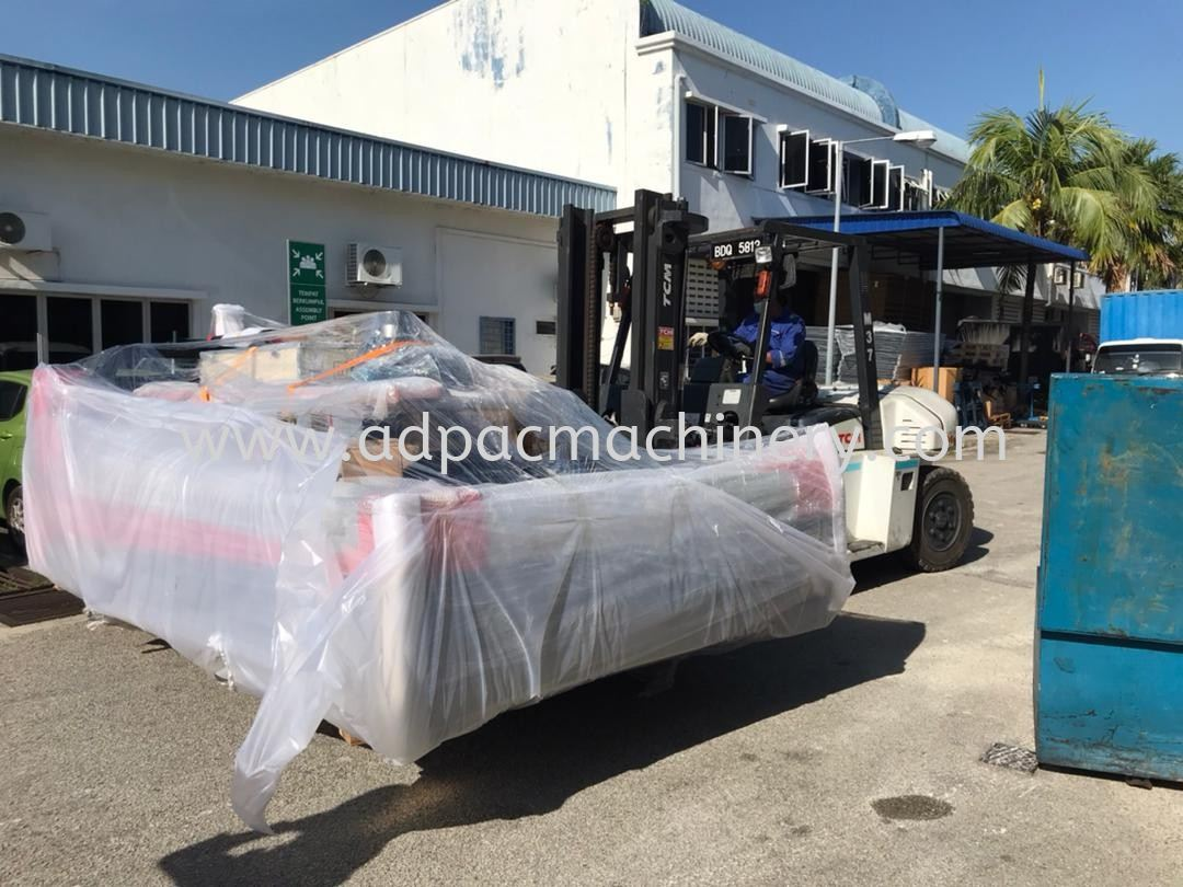 Delivery of New Fiber Laser Cutting Machine to Penang
