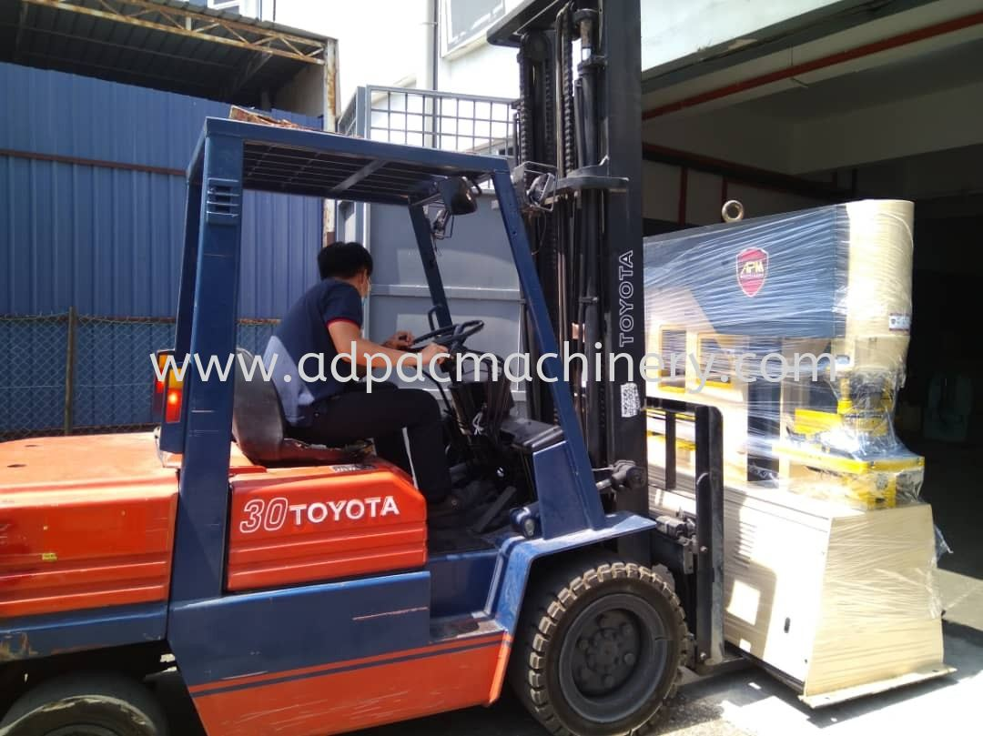 Delivery of Used 115Ton Hydraulic Iron Worker / Steel Worker