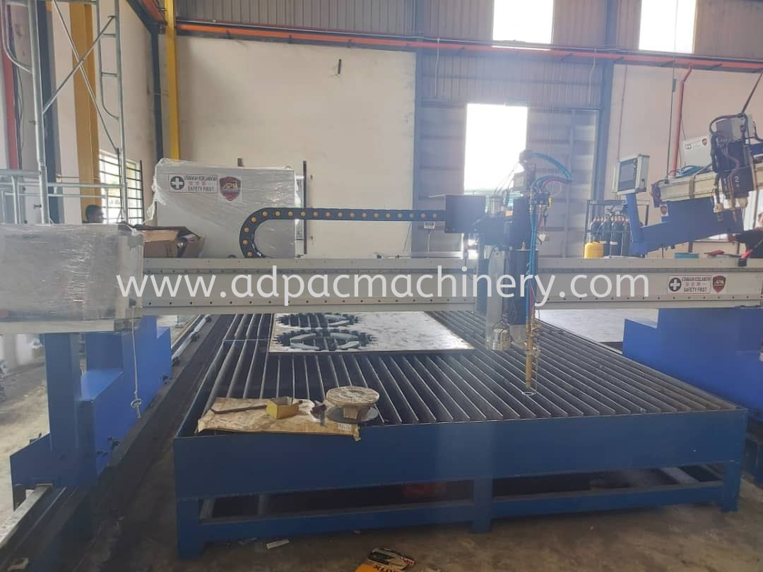 Delivery of New APM CNC Plasma Cutting Machine with Hypertherm Plasma