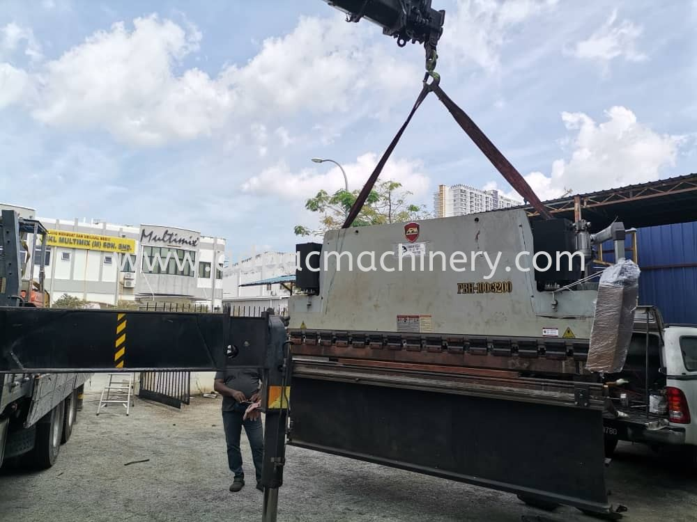 Delivery of Used NC Hydraulic Press Brake / Bending Machine