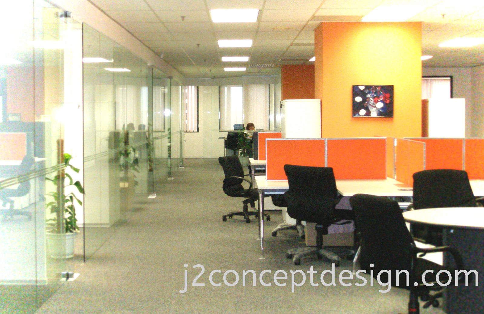 Interior Design & Office Design Malaysia @ General Office View 1