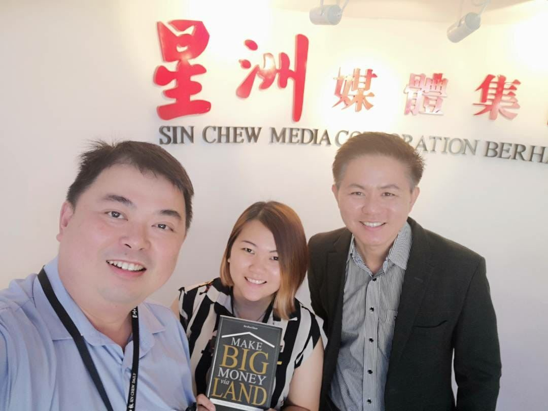 Thank you for yr interview, Mr.Hon n Angel Toh, reporter from Sin Chew newspaper.